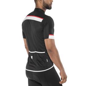 Sportful Pista Jersey Men black/white-red